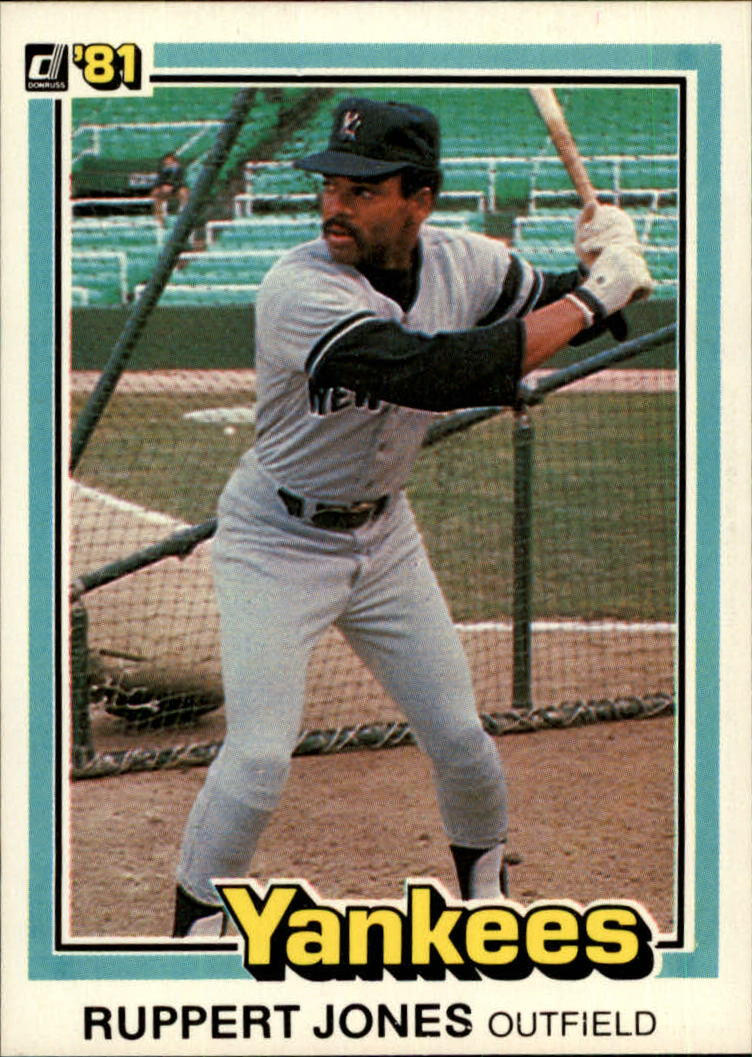 1981 Donruss #349 Ruppert Jones