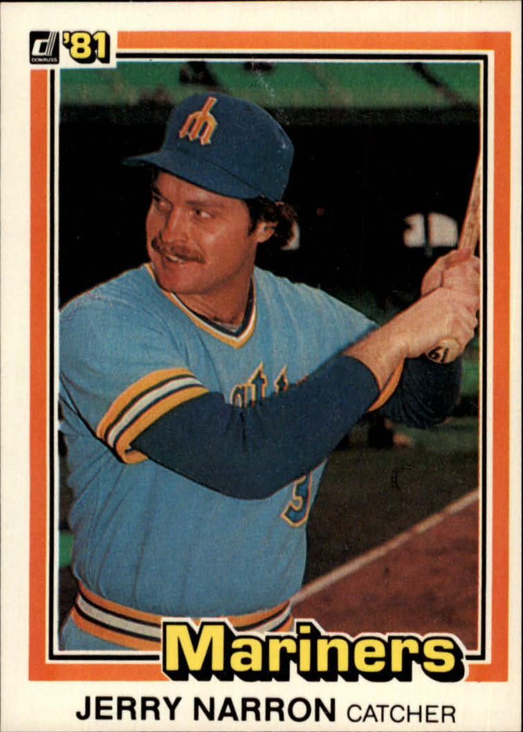 1981 Donruss #405 Jerry Narron
