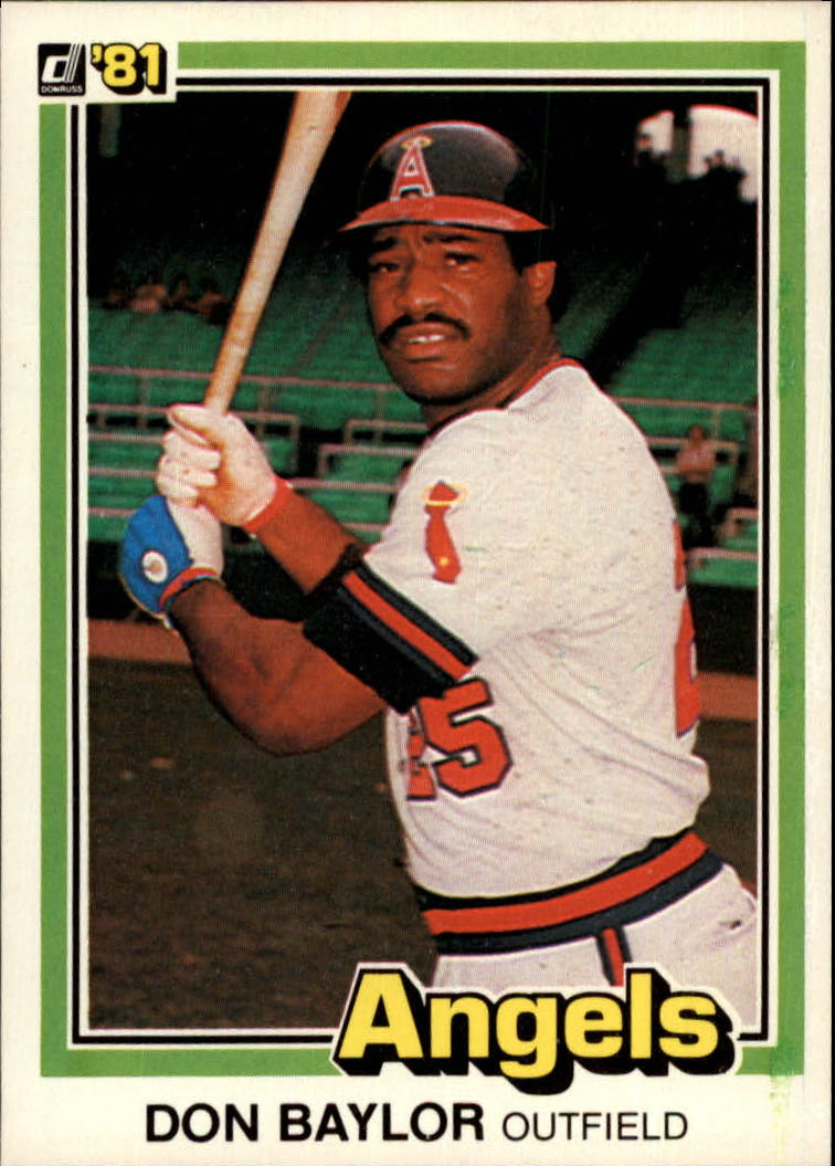 1981 Donruss #413 Don Baylor