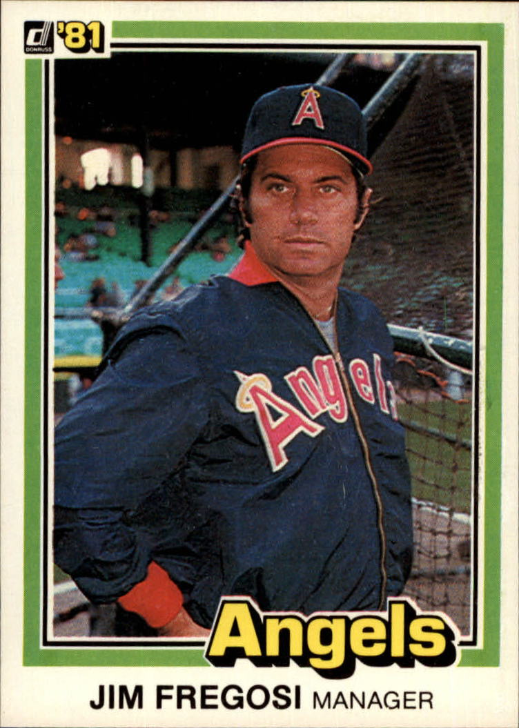 1981 Donruss #414 Jim Fregosi MG