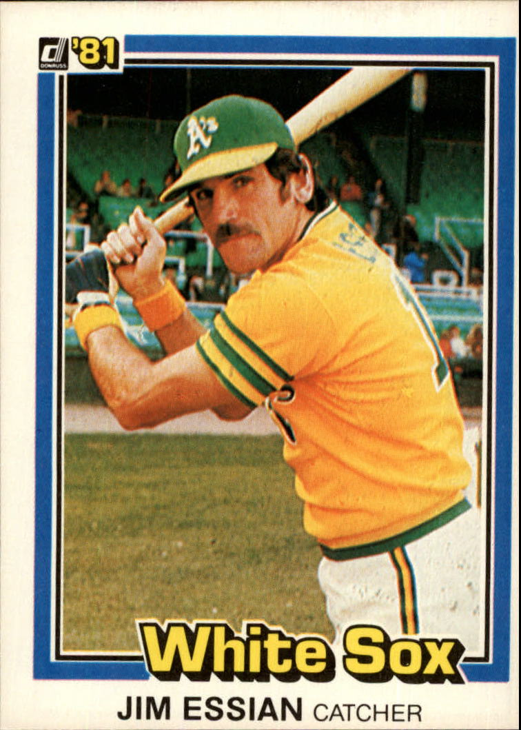 1981 Donruss #503 Jim Essian