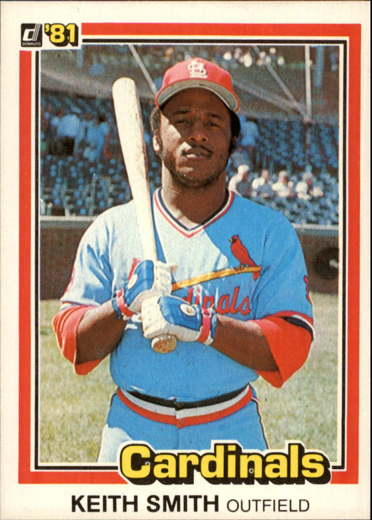 1981 Donruss #539 Keith Smith
