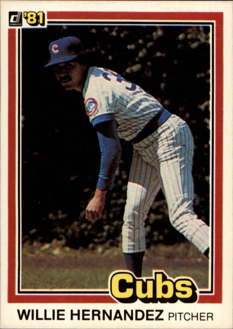 1981 Donruss #589 Willie Hernandez