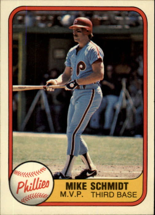 1981 Fleer #5 Mike Schmidt/See also 640A