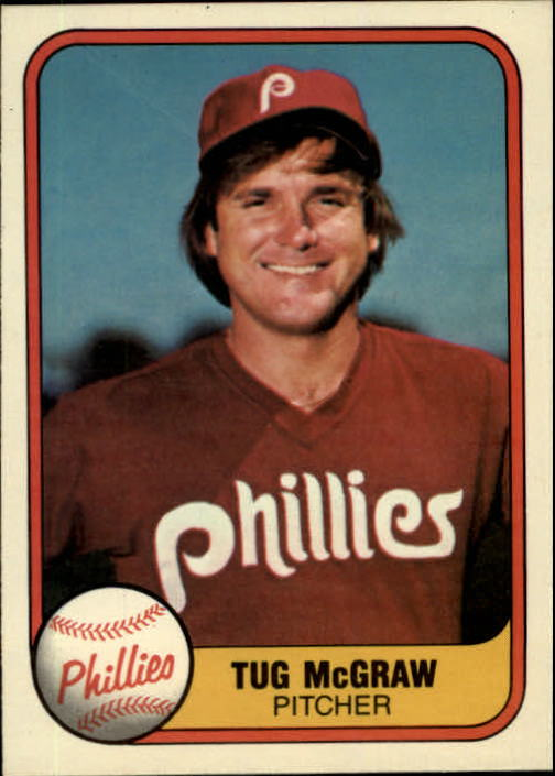 1981 Fleer #7 Tug McGraw/See 657A