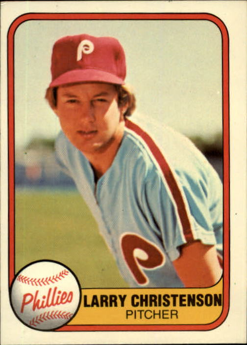 1981 Fleer #8 Larry Christenson