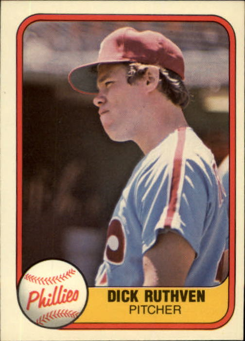 1981 Fleer #16 Dick Ruthven
