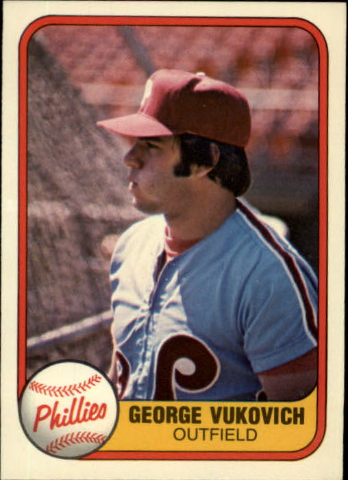 1981 Fleer #21 George Vukovich RC