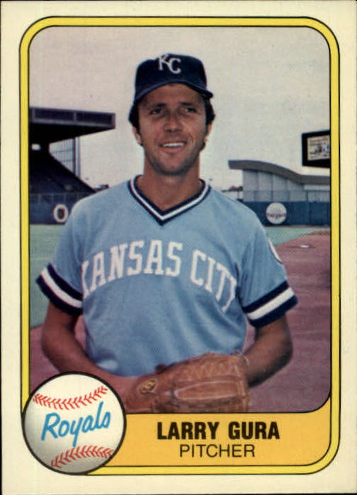 1981 Fleer #38 Larry Gura