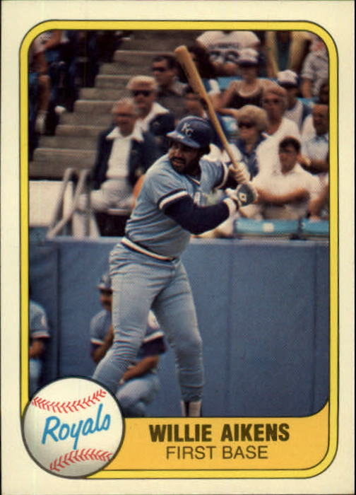 1981 Fleer #43 Willie Aikens
