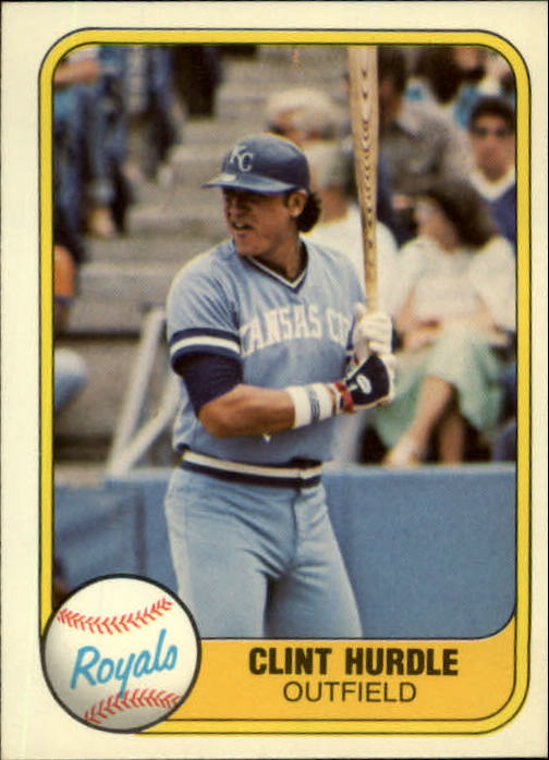 1981 Fleer #45 Clint Hurdle