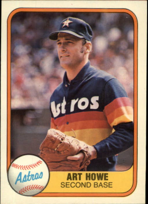 1981 Fleer #51 Art Howe