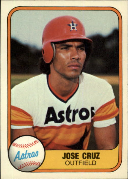 1981 Fleer #60 Jose Cruz