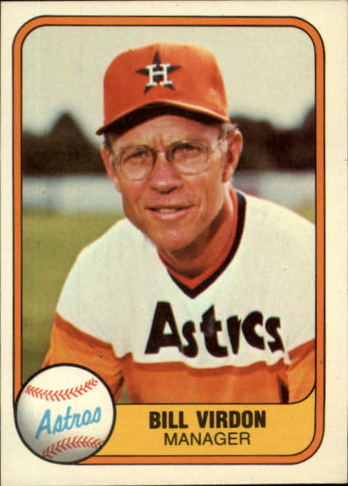 1981 Fleer #61 Bill Virdon MG