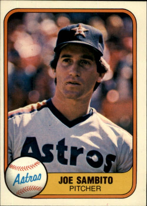 1981 Fleer #65 Joe Sambito