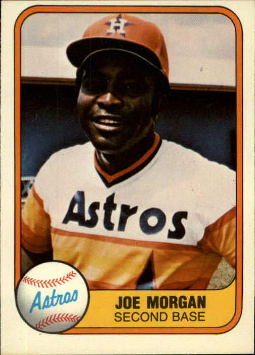 1981 Fleer #78 Joe Morgan