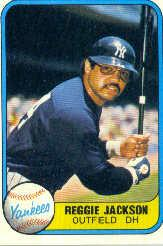 1981 Fleer #79 Reggie Jackson/See also 650A
