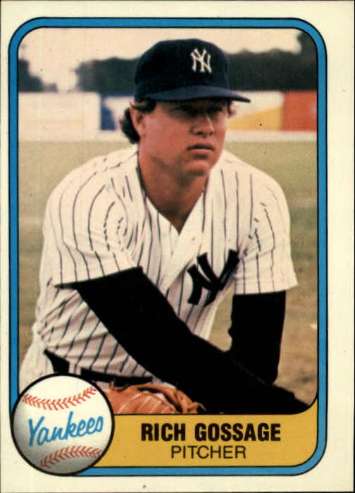 1981 Fleer #89 Rich Gossage