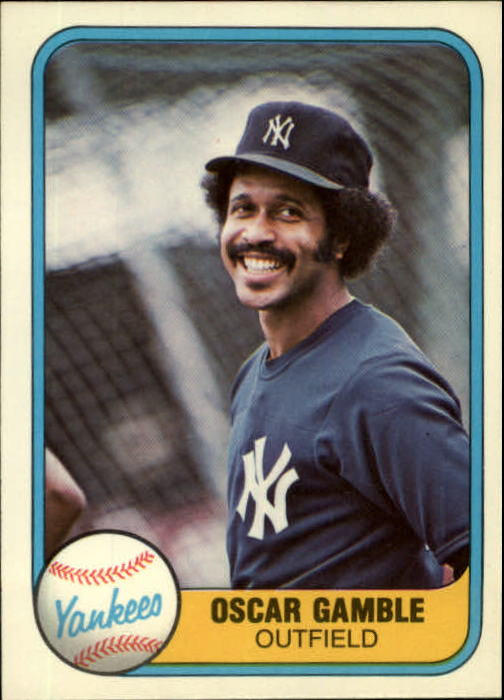 1981 Fleer #98 Oscar Gamble