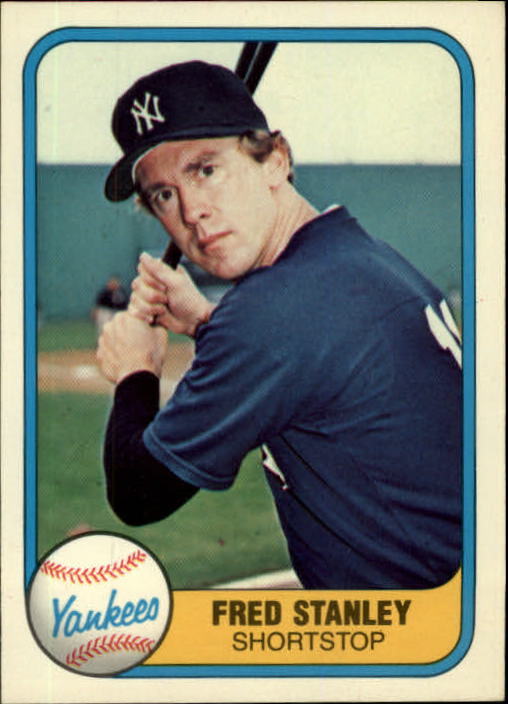 1981 Fleer #100 Fred Stanley