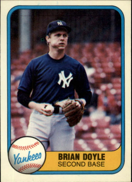 1981 Fleer #104 Brian Doyle