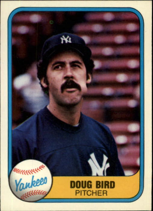 1981 Fleer #106 Doug Bird