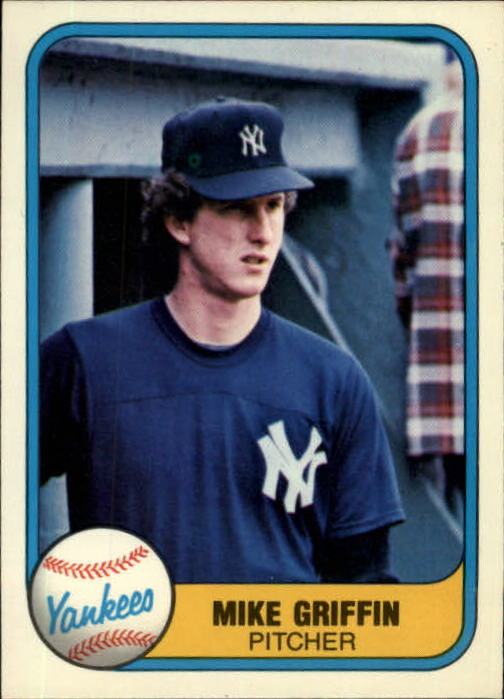 1981 Fleer #107 Mike Griffin RC