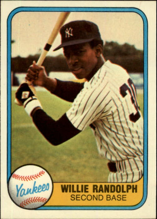 1981 Fleer #109 Willie Randolph