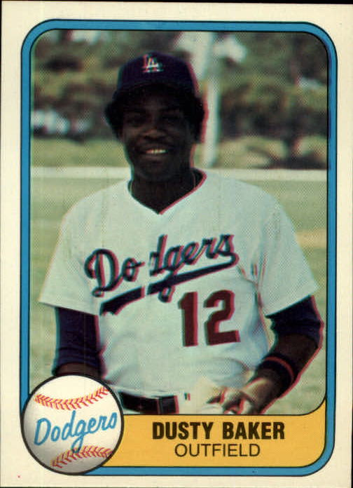 1981 Fleer #115 Dusty Baker