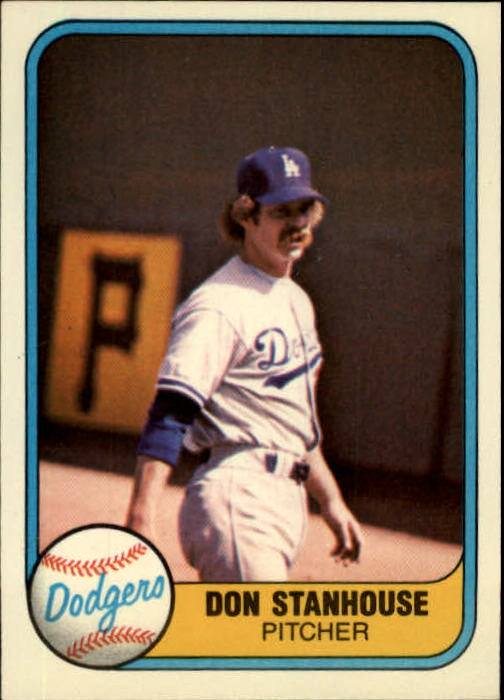 1981 Fleer #121 Don Stanhouse