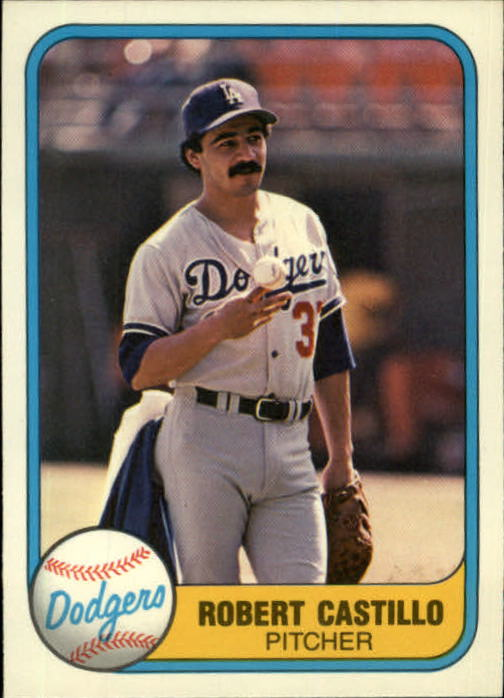1981 Fleer #137 Robert Castillo RC