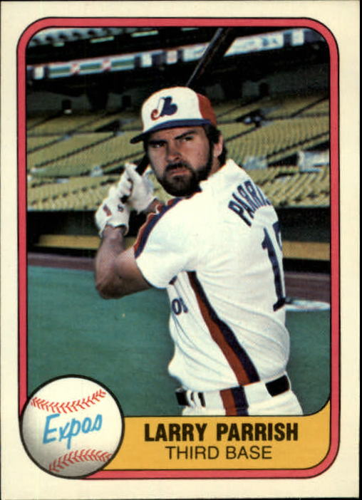 1981 Fleer #146 Larry Parrish