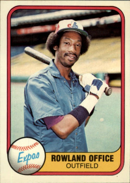 1981 Fleer #147 Rowland Office