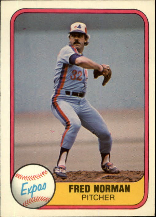 1981 Fleer #158 Fred Norman