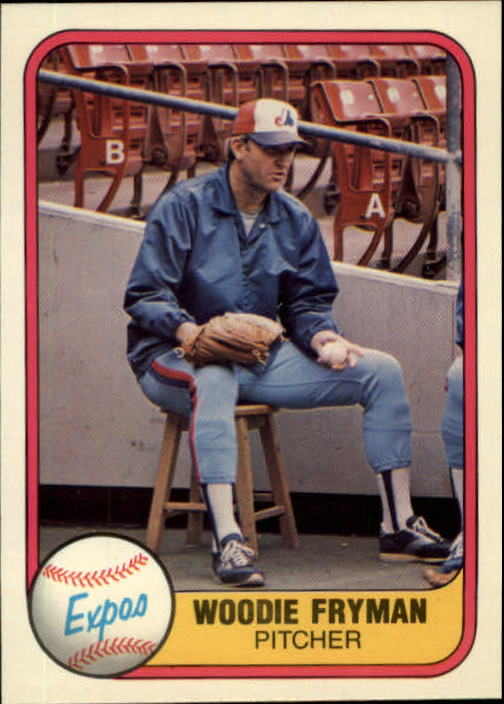 1981 Fleer #159 Woodie Fryman
