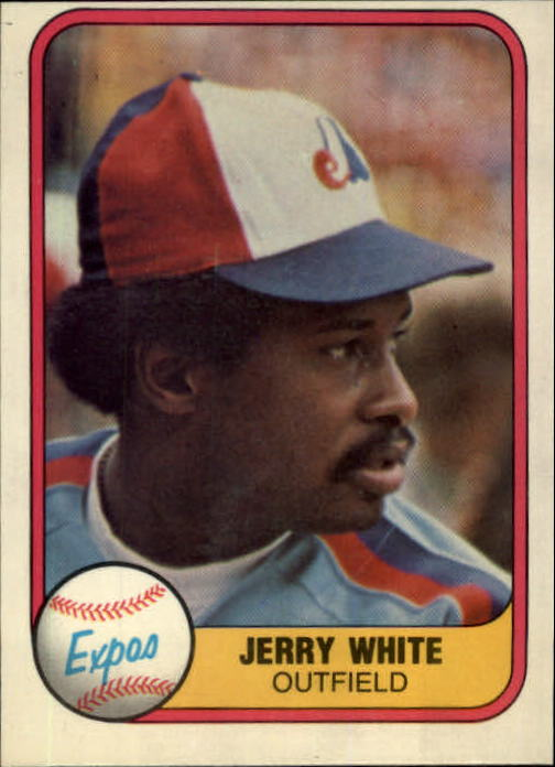 1981 Fleer #161 Jerry White