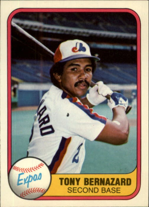 1981 Fleer #168 Tony Bernazard