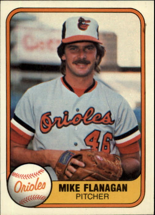 1981 Fleer #171 Mike Flanagan