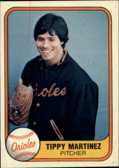 1981 Fleer #179 Tippy Martinez