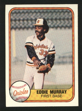 1981 Fleer #184 Eddie Murray