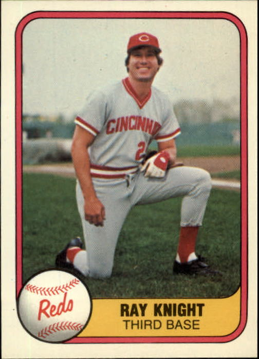 1981 Fleer #198 Ray Knight