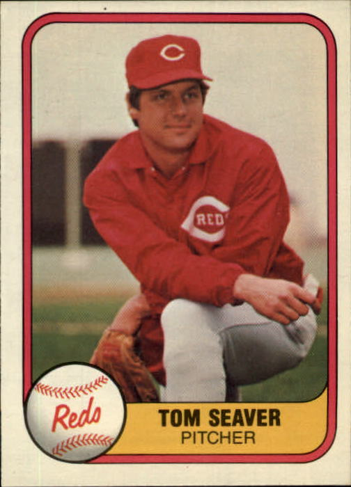 1981 Fleer #200 Tom Seaver