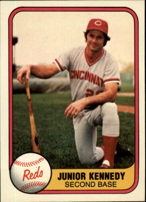 1981 Fleer #203 Junior Kennedy
