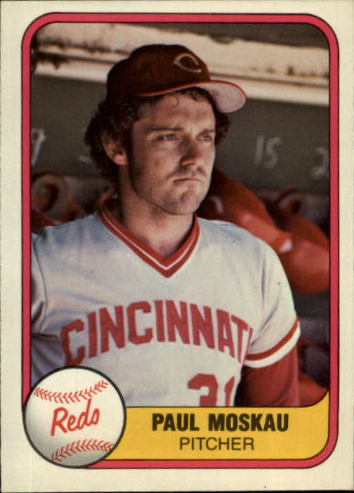 1981 Fleer #207 Paul Moskau
