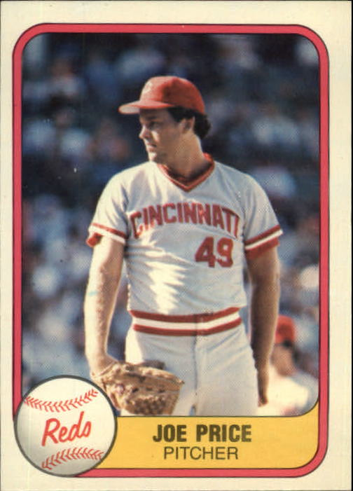 1981 Fleer #210 Joe Price RC