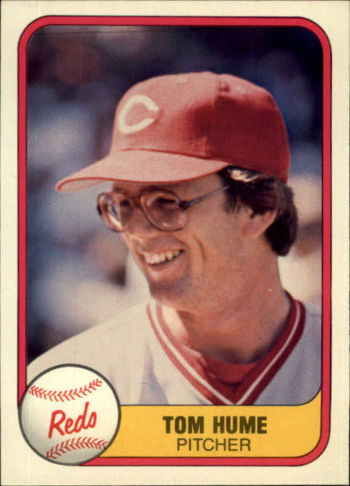 1981 Fleer #211 Tom Hume