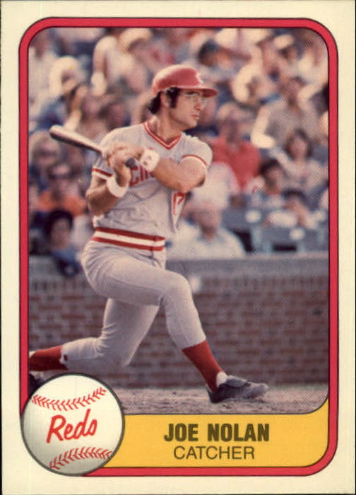 1981 Fleer #212 Joe Nolan