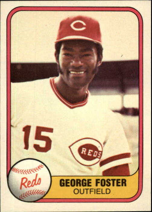1981 Fleer #216 George Foster/(See 202)