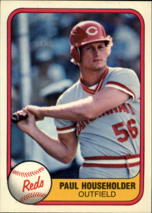 1981 Fleer #217 Paul Householder