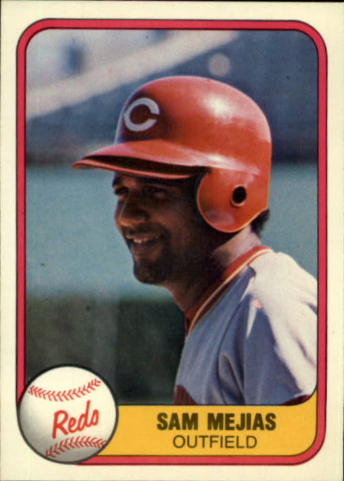 1981 Fleer #219 Sam Mejias